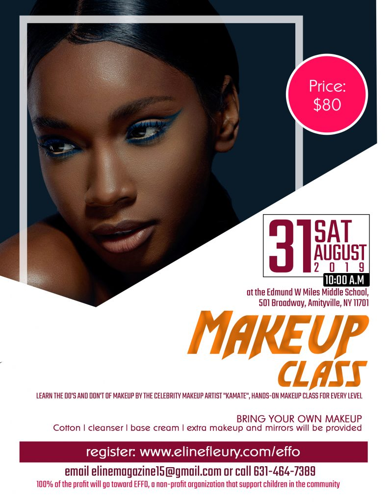 "Register to the ""Hands-On Make-up Class in Amityville"